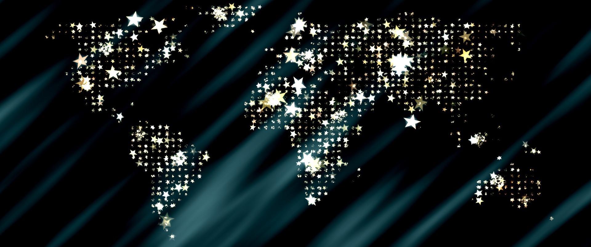 World in stars